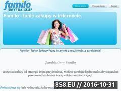 Miniaturka domeny familozakupy.blogspot.com