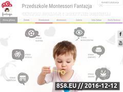 Miniaturka domeny www.fantazja-dzieci.pl