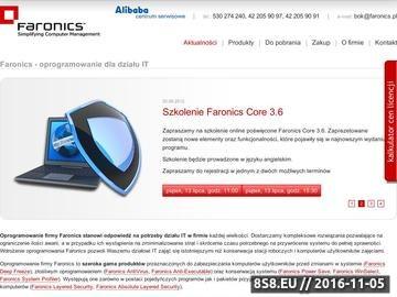 Zrzut strony Oprogramowanie Faronics - oprogramowanie dla firm i szkół - Faronics Polska