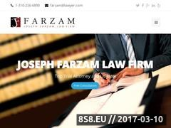 Thumbnail of Personal Injury Lawyers Website