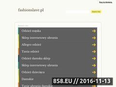 Miniaturka domeny fashionslave.pl