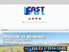 Miniaturka domeny www.fast-fol.pl