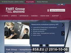 Miniaturka Agregaty prądotwórcze i zasilanie awaryjne UPS (fast-group.com.pl)