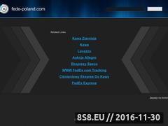 Miniaturka domeny www.fede-poland.com