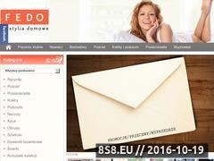 Miniaturka domeny www.fedo.pl