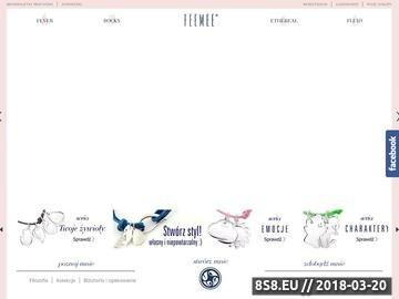 Zrzut strony Biżuteria personalizowana - Feemee