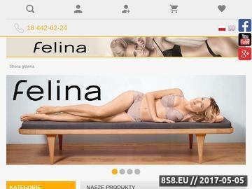 Zrzut strony Bielizna Felina, bielizna nocna Coemi oraz rajstopy i pończochy