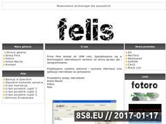 Miniaturka domeny felis-net.com