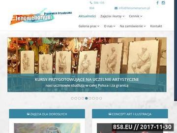 Zrzut strony Kurs rysunku i malarstwa | Wrocław | Fenomenarium