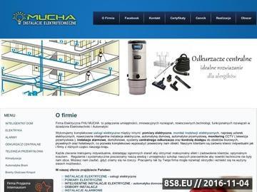 Zrzut strony Instalacje Elektryczne Alarmowe Monitoring Rzeszow