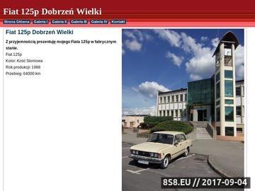 Zrzut strony Opolski Fiat 125p