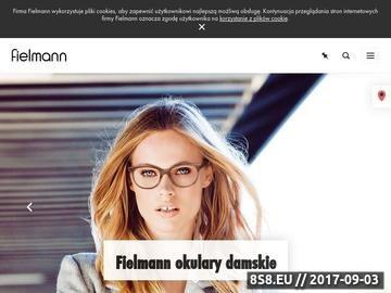 Zrzut strony Fielmann - soczewki kontaktowe