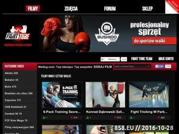 Zrzut strony Strona Fascynatów Sztuk Walki i MMA