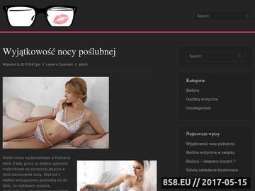Zrzut strony Bielizna - sklep internetowy