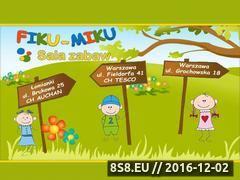 Miniaturka domeny fiku-miku.com.pl