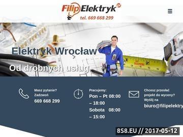 Zrzut strony Pomiary elektryczne Wrocław - Filip Komuda