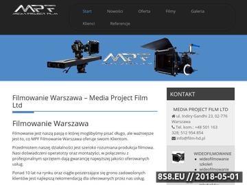 Zrzut strony Wideofilmowanie Film-HD wideofilmowanie i montaż wideo