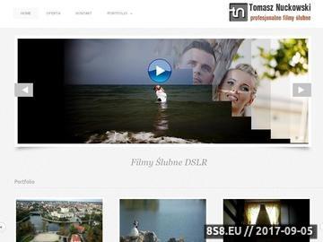 Zrzut strony TOMASZ TV- Wideofilmowanie Bydgoszcz