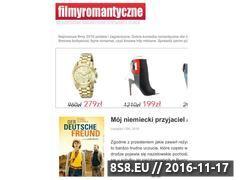 Miniaturka domeny www.filmyromantyczne.pl