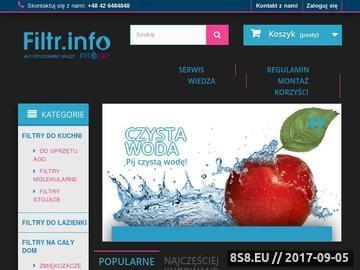 Zrzut strony Najtańsze Filtry do wody - filter.pl