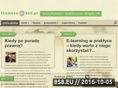 Miniaturka domeny www.finanse365.com.pl