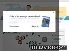 Miniaturka domeny finansomania.net