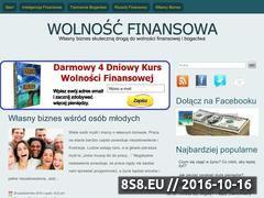 Miniaturka domeny finansowawolnosc.pl