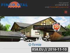 Miniaturka domeny fincostal.com.pl