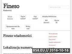 Miniaturka domeny www.fineso.pl