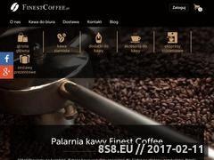 Miniaturka domeny www.finestcoffee.pl