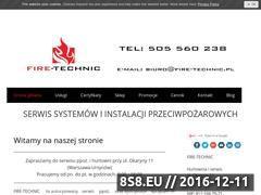 Miniaturka domeny fire-technic.pl