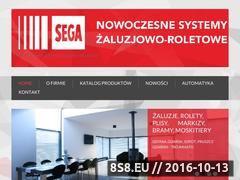 Miniaturka domeny www.firma-sega.pl