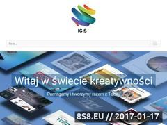 Miniaturka domeny www.firmaigis.pl