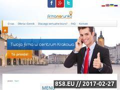 Miniaturka domeny www.firmanarynku.pl
