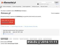 Miniaturka domeny www.firmano.pl