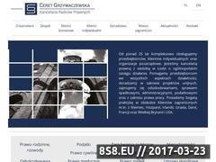 Miniaturka domeny firmaprawnicza.pl