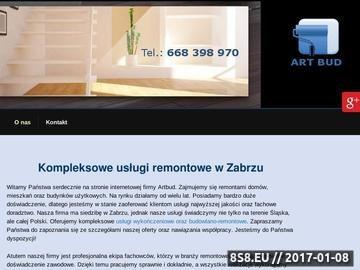 Zrzut strony ArtBud - prace remontowe