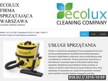 Zrzut strony Pranie wykładzin dywanowych - ECOLUX firma sprzątająca Warszawa