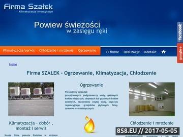 Zrzut strony Agregat skraplający Łódź