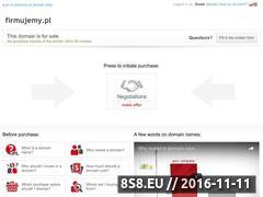 Miniaturka domeny firmujemy.pl