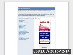 Miniaturka domeny www.firststrike.pun.pl