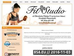 Miniaturka domeny www.fit-studio.com.pl