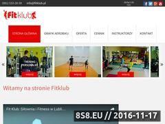 Miniaturka domeny www.fitklub.pl
