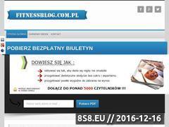 Miniaturka domeny fitnessblog.com.pl