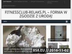 Miniaturka domeny fitnessclub-relaks.pl