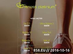 Miniaturka domeny www.fitnessplatinium.pl
