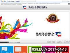 Miniaturka domeny www.flaggfabriken.pl