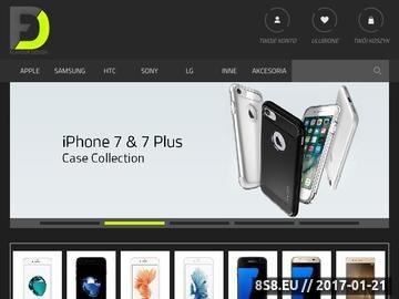 Zrzut strony Innowacyjne i Eleganckie Akcesoria GSM