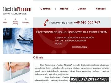 Zrzut strony Usługi księgowe Katowice