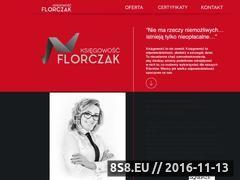 Miniaturka domeny www.florczakksiegowosc.pl
